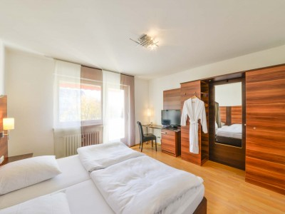 Doppelzimmer im Hotel Huber in Dachau