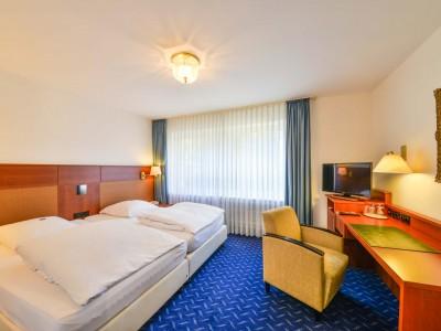 Doppelbettzimmer Hotel Huber