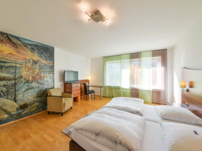 Doppelzimmer im Hotel Huber garni in Dachau