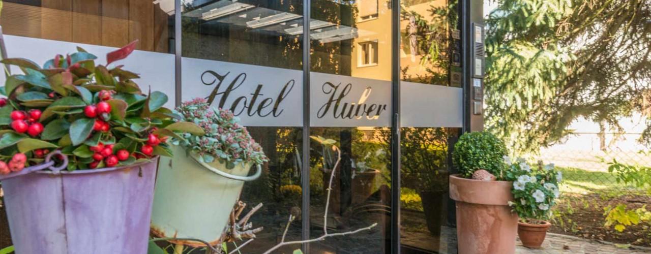 Hotel Huber Eingang